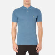 Polo Ralph Lauren Men's Short Sleeve Slim Fit Polo Shirt - Marine Heather