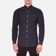Polo Ralph Lauren Men's Long Sleeve Button Down Shirt - Hunter Navy
