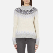 Samsoe & Samsoe Women's Vaga O Neck Jumper - Clear Cream
