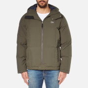 Lacoste Men's Padded Jacket - Baoba/Navy Blue