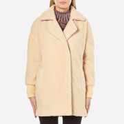 MINKPINK Women's Fine Side Bomber Coat - Honey