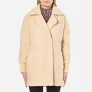 MINKPINK Women's Fine Side Bomber Coat - Honey