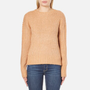 MINKPINK Women's By The Fire Zip Back Sweatshirt - Blush