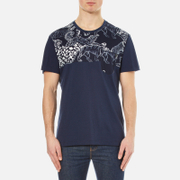 Versace Collection Men's All Over Print T-Shirt - Multi