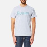 Maison Kitsuné Men's Parisien T-Shirt - Grey