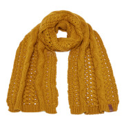 Superdry Women's North Cable Scarf - Rust