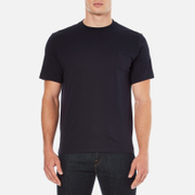 PS by Paul Smith Men's Crew Neck Short Sleeve Logo T-Shirt - Navy