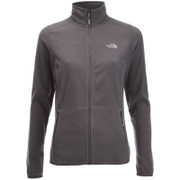 The North Face Women's 100 Glacier Full Zip Fleece - Rabbit Grey