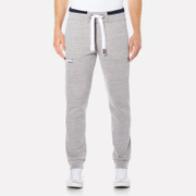 Superdry Men's Orange Label Tipped Joggers - Pearl Grey Grit