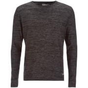 Pull Jack & Jones pour Homme Originals Calla -Gris Chiné