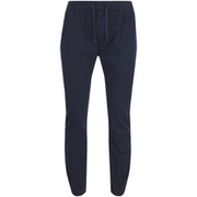 Brave Soul Men's Fine Cuffed Chinos - Navy