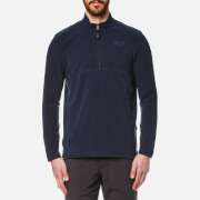 Jack Wolfskin Men's Gecko Fleece Jumper - Night Blue