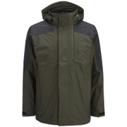 Jack Wolfskin Men's Viking Sky 3-in-1 Jacket - Olive Brown