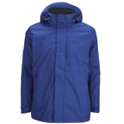 Jack Wolfskin Men's Black Range 3-in-1 Jacket - Deep Sea Blue