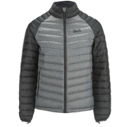 Jack Wolfskin Men's Zenon Altis Down Jacket - Ebony
