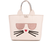 Karl Lagerfeld Women's K/Kocktail Choupette Shopper Bag - Sea Shell