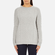 Levi's Women's Aran Jumper - Icy Grey Heather