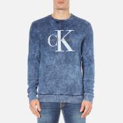 Calvin Klein Men's Hinter Crew Neck Sweatshirt - Night Sky