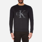 Calvin Klein Men's Hinter Crew Neck Sweatshirt - CK Black