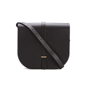 The Cambridge Satchel Company Women's Large Saddle Bag - Black