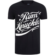 Rum Knuckles Signature Logo T-Shirt - Black