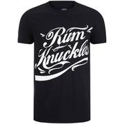 Rum Knuckles Signature Logo T-Shirt - Zwart