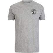 Rum Knuckles Mens Classic Logo T-Shirt - Grijs