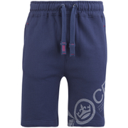 Shorts Pacific Crosshatch -Bleu