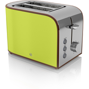 Swan ST17020LN 2 Slice Retro Toaster - Lime