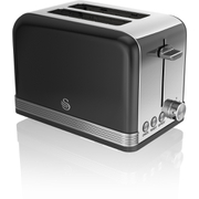 Swan ST19010BN 2 Slice Toaster - Black