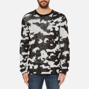 Cheap Monday Men's Moe Easy Invader Jumper - Off White