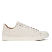 TOMS Men's Lenox Leather Cupsole Trainers - Birch