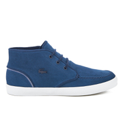 Lacoste Men's Sevrin Mid 316 1 Chukka Trainers - Navy