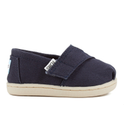 TOMS Toddlers' Seasonal Classics Slip-On Pumps - Navy