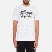 Billionaire Boys Club Men's Galaxy Astro Short Sleeve T-Shirt - White