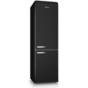 Swan SR11020BN Retro Fridge Freezer - Black