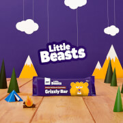 Little Beasts Grizzly Bar - Кутия с 6 бара