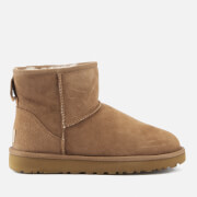 UGG Women's Classic Mini II Sheepskin Boots - Chestnut