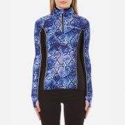 Superdry Women's Core Gym Track Top - Purple Python
