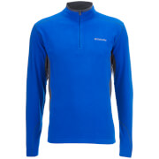 Columbia Men's Klamath Range II Fleece - Super Blue/Graphite