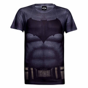 DC Comics Herren Batman Muscle T-Shirt - Grau