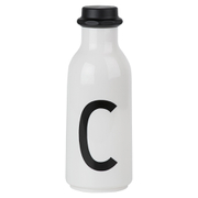Design Letters Water Bottle - C