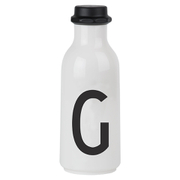 Design Letters Water Bottle - G