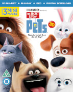 The Secret Life of Pets 3D (Includes 2D Version + UV Copy)