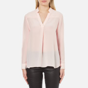 French Connection Women's Super Silk Shirt - Capri Bush