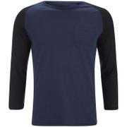 Produkt Men's 3/4 Sleeve Raglan Top - Dress Blue