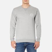 Edwin Men's Classic Crew Logo 2 Sweatshirt - Grey Marl