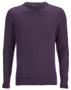 Kensington Eastside Men's Balint Crew Neck Jumper - Sweet Grape