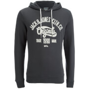 Jack & Jones Men's Originals Oskar Hoody - Asphalt