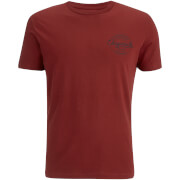 Jack & Jones Men's Originals Small Logo Bones T-Shirt - Syrah
